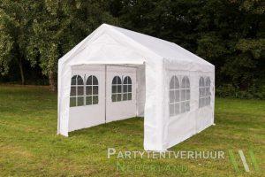 Partytent 3x4 meter zijkant huren - Partytentverhuur Leeuwarden