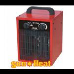 Elektrische heater voor de nodige warmte in uw partytent