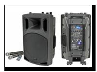 Geen feest zonder muziek deze set komt inclusief microfoons