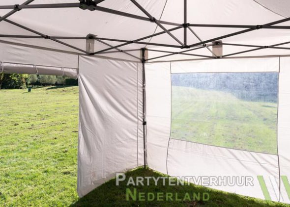 Binnenkant Easy Up 3x4,5 meter huren - Partytentverhuur Leeuwarden