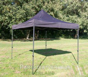 Easy up tent 3x3 meter schuin huren - Partytentverhuur Leeuwarden