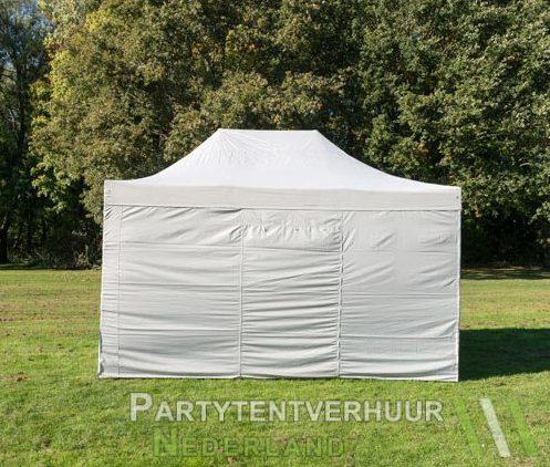 Easy up tent 3x4,5 meter achterkant huren - Partytentverhuur Leeuwarden