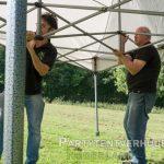 Easy up tent 3x4,5 meter opbouw huren - Partytentverhuur Leeuwarden