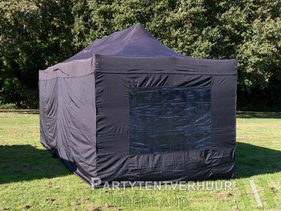 Easy up tent 3x6 meter achterkant huren - Partytentverhuur Leeuwarden