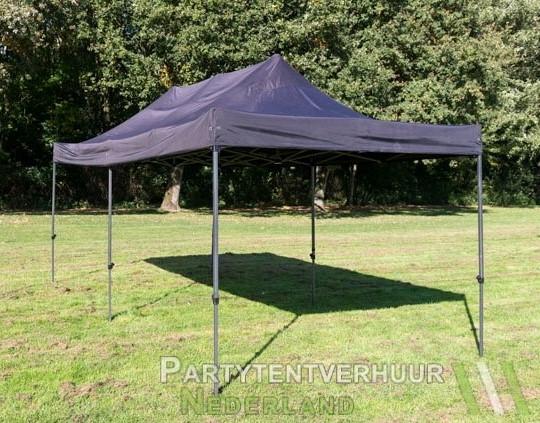 Easy up tent 3x6 meter schuin voorkant huren - Partytentverhuur Leeuwarden