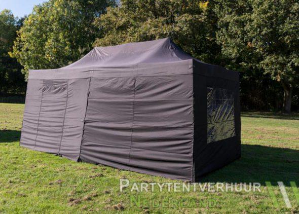 Easy up tent 3x6 meter zijkant huren - Partytentverhuur Leeuwarden