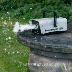 Sneeuwmachine actiefoto huren - Partytentverhuur Leeuwarden
