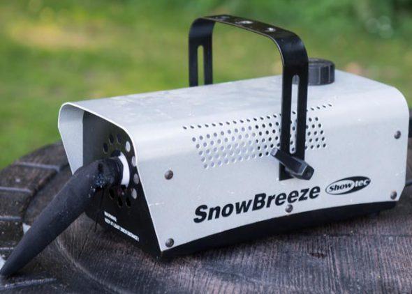 Sneeuwmachine huren - Partytentverhuur Leeuwarden