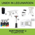 Partypakket 2 huren in Leeuwarden