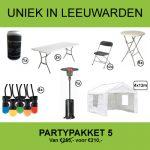 partypakket 5 huren in Leeuwarden