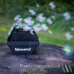 Bellenblaasmachine met bellenblaas huren - Partytentverhuur Leeuwarden